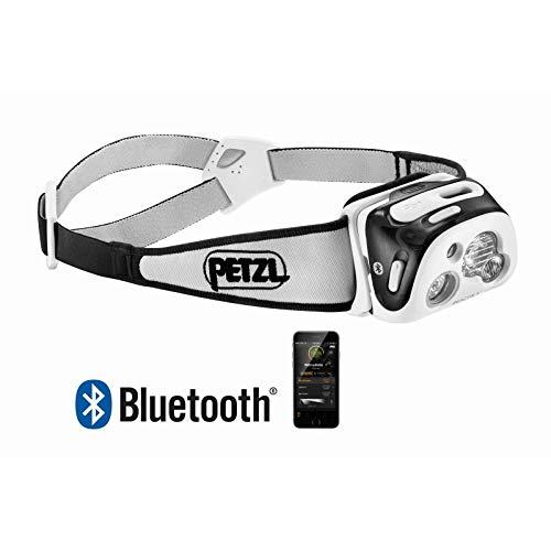 Petzl E95 HNE -Linterna frontal con tecnología de Lighting reactiva, luz blanca, color negro, 300 lúmenes, tamaño talla única