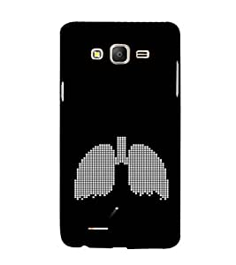 EPICCASE Lungs Pattern Mobile Back Case Cover For Samsung Galaxy E5 (Designer Case)