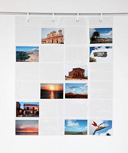 Fotovorhang 65 x 80cm (BxH) Fotogalerie Kartengalerie mit 24 Taschen!