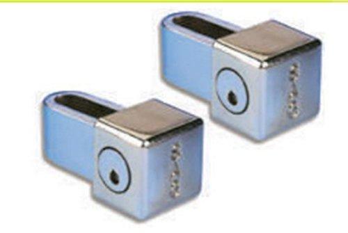 ECOSPAIN Juego de 2 Cerradura de Seguridad Sag Modelo CPT 60, 2 .Cerra