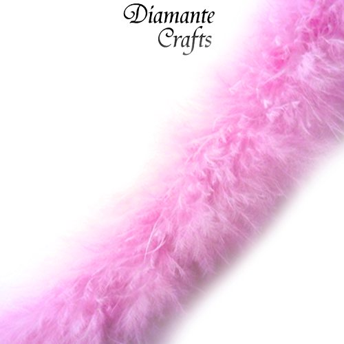 1-metre-marabou-swandown-feather-trim-soft-fluffy-craft-choose-colour-pink