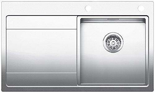 Preisvergleich Produktbild Blanco Divon II 45 S-IF Edelstahl Einbau Spüle Spültisch Küche Auflagespüle