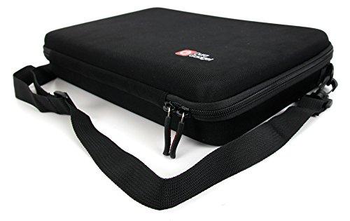 DURAGADGET Hartschalentasche / Koffer mit anpassbarer Schaustoffeinlage für MikanixX Spirit X006 Drohne - 2,4Ghz Quadrocopter und Zubehör