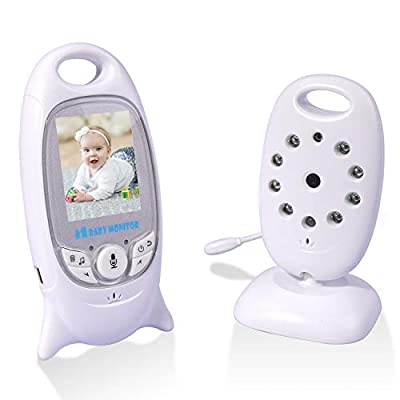 RCB Baby Monitor Digital Camera Wireless Babyphone Lullaby Screen LCD Two-Way Talk (VB601UK)  ZAY