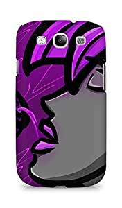 AMEZ Purple Punk Back Cover For Samsung Galaxy S3 Neo