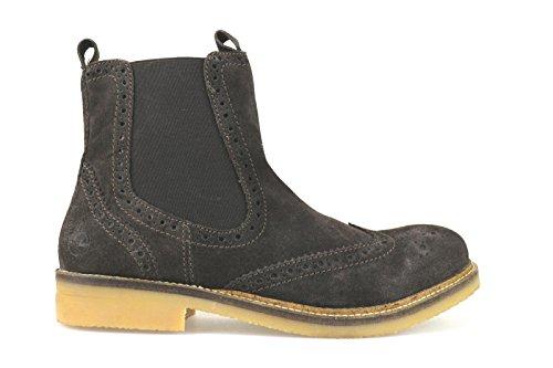 scarpe uomo LUMBERJACK stivaletti marrone camoscio AJ70 (44 EU)