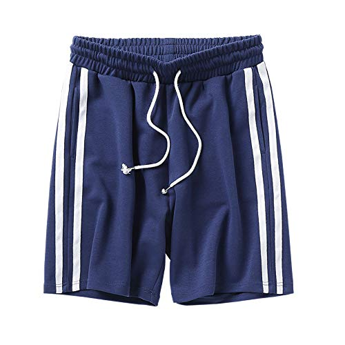Ozon Bib (CHLCH Herren Sport Shorts Jogginghose KordelzugFreizeitshorts blau XXXL)
