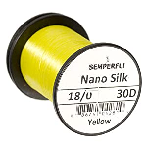 Semperfli Nano Silk Ultra 30D, 18/0 (Yellow)