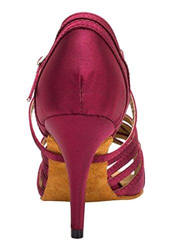TDA - Peep-Toe donna 8.5cm Heel Purple