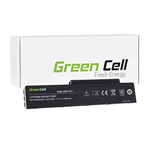 Green Cell® Standard Serie SQU-808 Batteria per Portatile Fujitsu (6 Pile 4400mAh 11.1V Nero)
