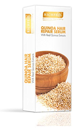 Richfeel Quinoa Hair Repair Serum 100ml  available at amazon for Rs.198