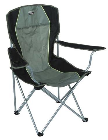 High Peak 44105 Chaise de camping Salou Vert olive/Gris foncé