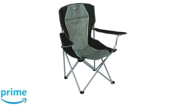 High Peak 44105 Chaise de Camping Salou Vert OliveGris
