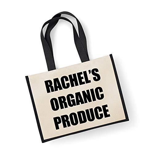 Große Jute Tasche personalisierbar Bio-Produkte schwarz Tasche Mütter Tag Neue Mama Geburtstag Weihnachtsgeschenk - Große Wickeltasche Personalisierte