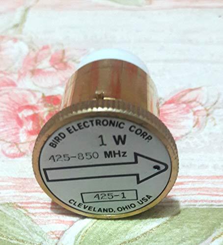 Bird 425-1 Thruline Model 43 Wattmeter Element Slug 1W 400-850 MHz