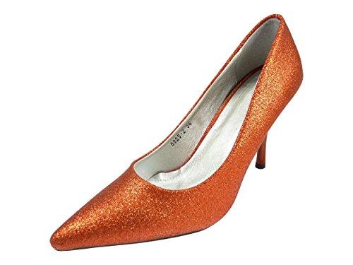 Scarpe Donna Sposa Strass Da Rosso Glitter 4PCqZw4