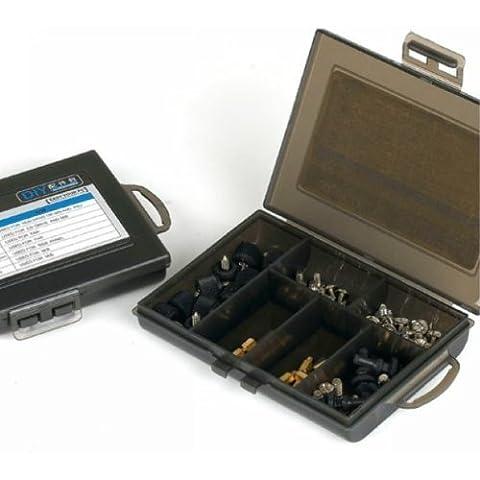 SISUN ordenador Tornillos de montaje de la caja del kit - bastidor / caso / madre / PC del caucho del ventilador Tornillos remaches / tornillos de disco duro HDD (incluyendo 82 tornillos)