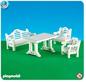 playmobil 7929 le salon de jardin 1900 dans un emballage plastique pas de boite. Black Bedroom Furniture Sets. Home Design Ideas