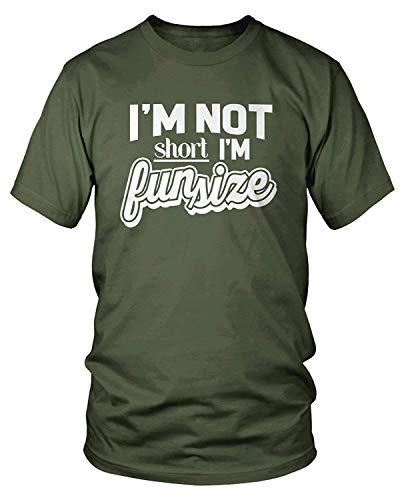 Bronx Kostüm - Men's I'm Not Short I'm Fun Size T-Shirt M