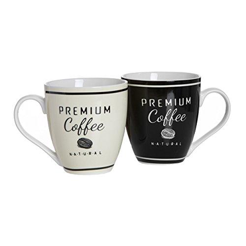 Ritzenhoff & Breker Premium Coffee Jumbobecher, 2er Set, Kaffeebecher, Becher, Tasse, 600 ml, 44058
