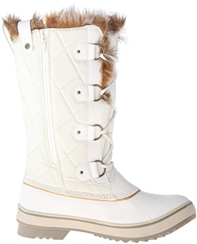 Skechers Highlanders-alto Quilt Doposci Winter White