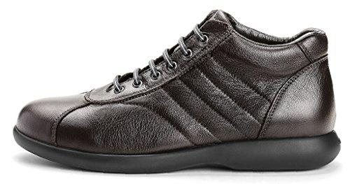 Frau 27p4 Chocolat Chaussures Confort Moyen Pédales Cuir Noir