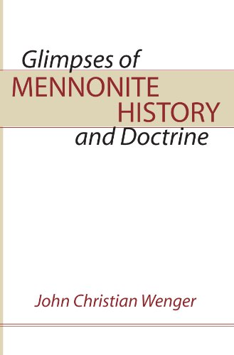Glimpses Of Mennonite History