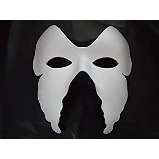 Ascrafts Hongbe 100 x Opera Plain Full Mask to Decorate & Paint Blank Venetian Masquerade Fancy Dress Masks
