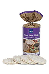 Haim Wholegrain Brown Rice Cakes with Quinoa and Chia Seeds (Pack of 2)