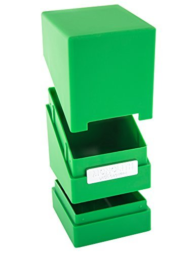 Preisvergleich Produktbild Monolith Deck Case 100+ Standard Size Green Card Game by Ultimate Guard