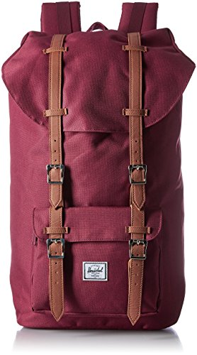 Little America Backpack windsor wine tan synthetic leather