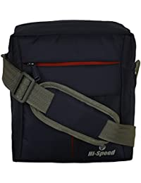 Hi-Speed Shoulder Sling Bag Black   Cross Body Travelers Sling Bag   Coaching,School Bag,Book Bag Turquoise Multipurpose...
