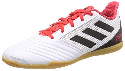 Adidas Predator Tango 18.4, Zapatillas de Fútbol Sala para Hombre, Blanco (Ftwbla/Negbas/Correa 000), 42 EU