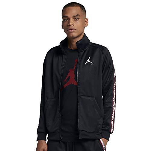 Nike JSW Jumpman Tricot JKT Jacke, Herren, Schwarz (Black/Black/White)