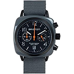 BRISTON - Watches - Men - ClubMaster Chrono Military Green Watch - TU