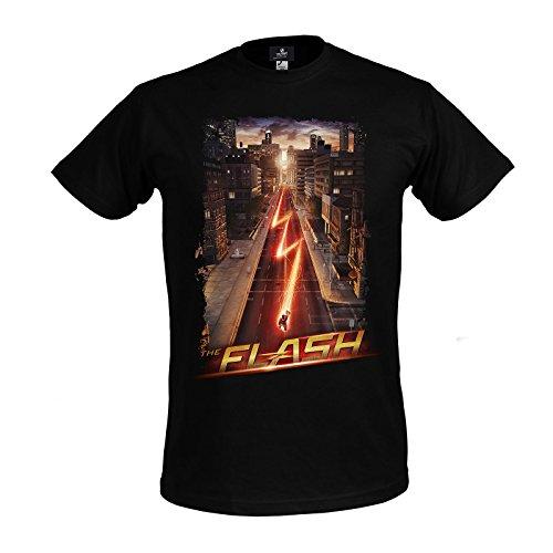 The Flash - T-Shirt Night Run tratta dalla serie - Cotone - Nero - S