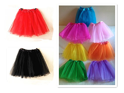 A-Liittle-Tree-New-LADIES-Girls-Women-Tutu-Skirts-Dress-Up-Fancy-Dress-Party-Hen-Party-RED