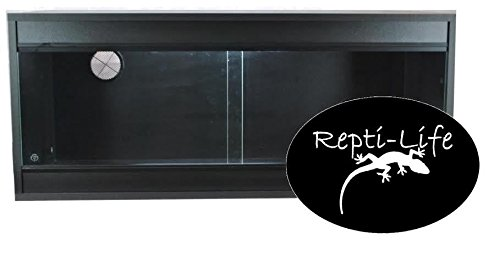 36x15x15-Inch-Vivarium-Flatpacked-In-Black-3ft-Viv-By-Repti-life