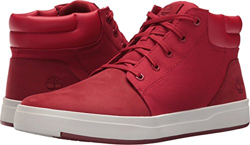 Timberland Chaussure Davis SQ PT CHK Pour Homme Dark Red