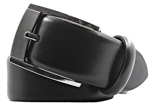 LLOYD Leder-Gürtel schwarz, Länge:85 cm