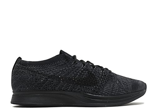ed0088ff58b8 Nike Flyknit Racer Triple Black Midnight Blackout - Black Black-Anthracite  Trainer Size 8.5 UK - Buy Online in Oman.