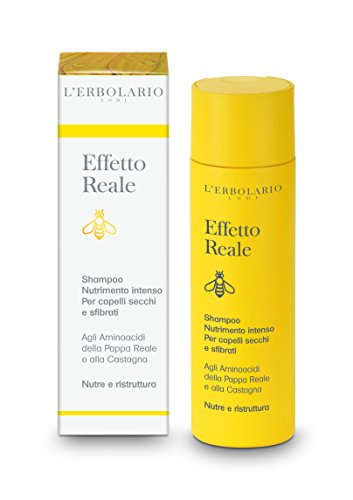 L'Erbolario Effetto Reale intensiv nährendes Shampoo, 1er Pack (1 x 200 ml)