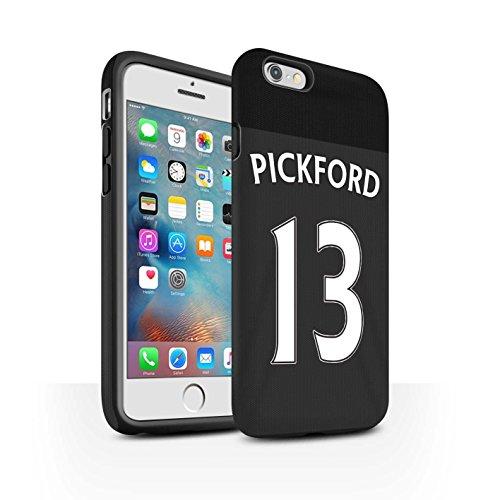 Offiziell Sunderland AFC Hülle / Matte Harten Stoßfest Case für Apple iPhone 6S+/Plus / Pack 24pcs Muster / SAFC Trikot Away 15/16 Kollektion Pickford