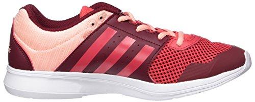 rosbas Rot Laufschuhe Adidas Essential corneb Fun Ii buruni Damen gOAHqA0