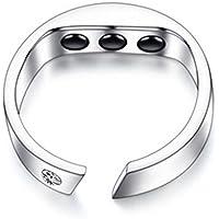 Preisvergleich für NACHEN Anti Schnarchen Ring, Verhindern Schnarchen Ring Gebaut in 3 Gesundheit Magnete Atemstopp Schnarchen Gerät