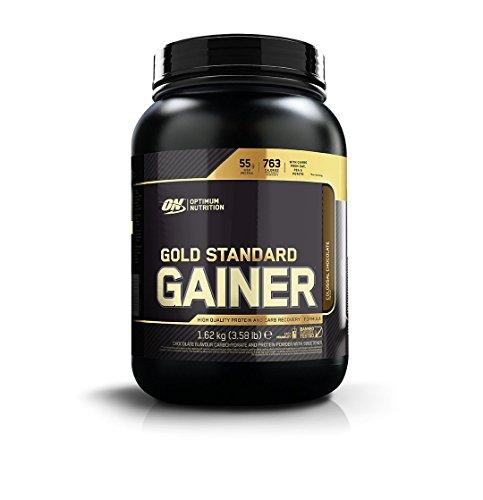 OPTIMUM NUTRITION Gold Standard Gainer Mélange de Protéines Chocolat 1,62kg