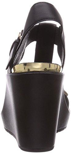 CAFèNOIR  Sandal, Sandales pour Noir - Schwarz (494 NERO/NERO)
