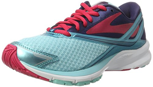 brooks Launch 4, Zapatos para Correr para Mujer, Multicolor (Blueradiance/Patriotblue/Virtualpink), 36.5 EU