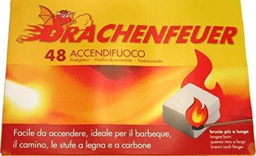 UNION IMPORT Lot de 48 cheminées pour Barbecue et cheminée