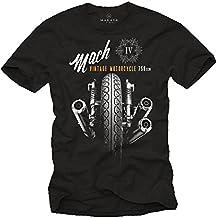 Camisetas Moteras - Vintage Moto Mach 4 Hombre
